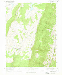 Download a high-resolution, GPS-compatible USGS topo map for Blackbird Knob, WV (1975 edition)