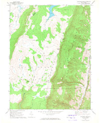 Download a high-resolution, GPS-compatible USGS topo map for Blackbird Knob, WV (1972 edition)