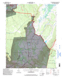 Download a high-resolution, GPS-compatible USGS topo map for Blackwater Falls, WV (1998 edition)