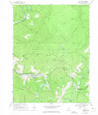 Download a high-resolution, GPS-compatible USGS topo map for Bowden, WV (1975 edition)