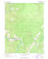 Download a high-resolution, GPS-compatible USGS topo map for Bowden, WV (1971 edition)