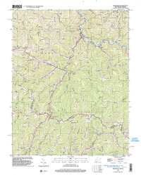 Download a high-resolution, GPS-compatible USGS topo map for Bradshaw, WV (2003 edition)
