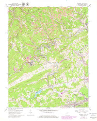 Download a high-resolution, GPS-compatible USGS topo map for Bramwell, WV (1979 edition)