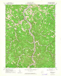 Download a high-resolution, GPS-compatible USGS topo map for Branchland, WV (1964 edition)