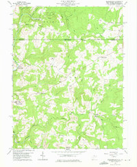 Download a high-resolution, GPS-compatible USGS topo map for Brandonville, WV (1975 edition)