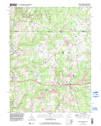 Download a high-resolution, GPS-compatible USGS topo map for Brandonville, WV (2002 edition)