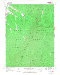 Download a high-resolution, GPS-compatible USGS topo map for Brandywine, WV (1970 edition)