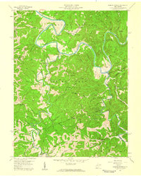 Download a high-resolution, GPS-compatible USGS topo map for Burning Springs, WV (1959 edition)