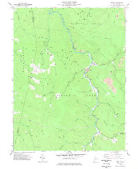 Download a high-resolution, GPS-compatible USGS topo map for Cassity, WV (1977 edition)
