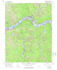 Download a high-resolution, GPS-compatible USGS topo map for Cedar Grove, WV (1977 edition)