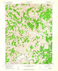 Download a high-resolution, GPS-compatible USGS topo map for Century, WV (1961 edition)