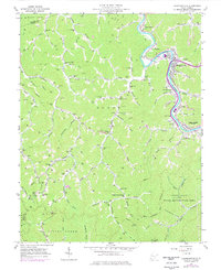 Download a high-resolution, GPS-compatible USGS topo map for Chapmanville, WV (1977 edition)