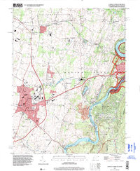 Download a high-resolution, GPS-compatible USGS topo map for Charles Town, WV (1999 edition)