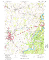 Download a high-resolution, GPS-compatible USGS topo map for Charles Town, WV (1979 edition)