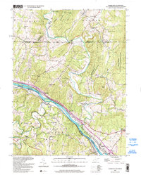 Download a high-resolution, GPS-compatible USGS topo map for Cherry Run, WV (2002 edition)