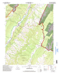 Download a high-resolution, GPS-compatible USGS topo map for Circleville, WV (1998 edition)