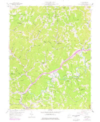 Download a high-resolution, GPS-compatible USGS topo map for Clio, WV (1977 edition)