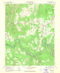 Download a high-resolution, GPS-compatible USGS topo map for Craigsville, WV (1970 edition)