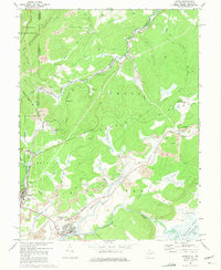 Download a high-resolution, GPS-compatible USGS topo map for Davis, WV (1975 edition)