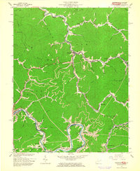 Download a high-resolution, GPS-compatible USGS topo map for Delbarton, WV (1964 edition)
