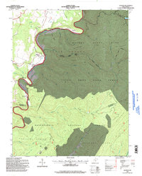 Download a high-resolution, GPS-compatible USGS topo map for Denmar, WV (1998 edition)