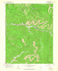 Download a high-resolution, GPS-compatible USGS topo map for Dorothy, WV (1966 edition)
