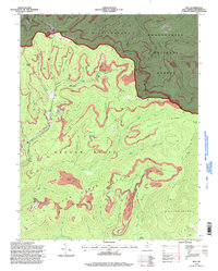 Download a high-resolution, GPS-compatible USGS topo map for Duo, WV (1998 edition)