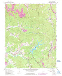 Download a high-resolution, GPS-compatible USGS topo map for Eccles, WV (1989 edition)