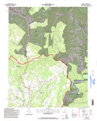 Download a high-resolution, GPS-compatible USGS topo map for Edray, WV (1998 edition)