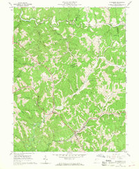 Download a high-resolution, GPS-compatible USGS topo map for Ellenboro, WV (1968 edition)
