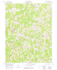 Download a high-resolution, GPS-compatible USGS topo map for Elmwood, WV (1976 edition)