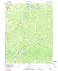 Download a high-resolution, GPS-compatible USGS topo map for Erbacon, WV (1989 edition)