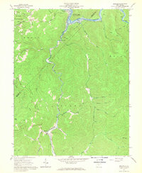 Download a high-resolution, GPS-compatible USGS topo map for Erbacon, WV (1968 edition)