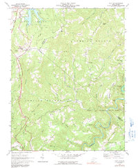 Download a high-resolution, GPS-compatible USGS topo map for Flat Top, WV (1991 edition)