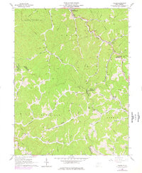 Download a high-resolution, GPS-compatible USGS topo map for Folsom, WV (1977 edition)