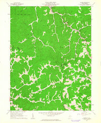 Download a high-resolution, GPS-compatible USGS topo map for Folsom, WV (1963 edition)