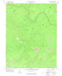 Download a high-resolution, GPS-compatible USGS topo map for Fork Mountain, WV (1978 edition)