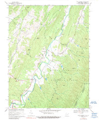 Download a high-resolution, GPS-compatible USGS topo map for Fort Seybert, WV (1989 edition)