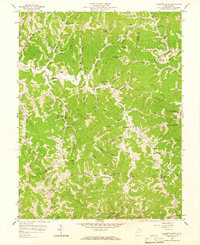 Download a high-resolution, GPS-compatible USGS topo map for Garretts Bend, WV (1965 edition)