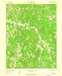Download a high-resolution, GPS-compatible USGS topo map for Garretts Bend, WV (1960 edition)