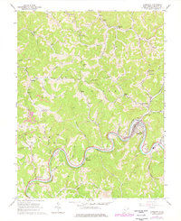 Download a high-resolution, GPS-compatible USGS topo map for Gassaway, WV (1977 edition)