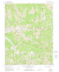 Download a high-resolution, GPS-compatible USGS topo map for Gay, WV (1991 edition)