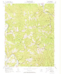 Download a high-resolution, GPS-compatible USGS topo map for Girta, WV (1973 edition)