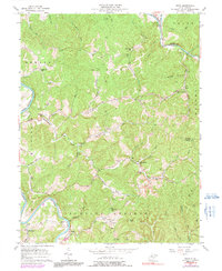 Download a high-resolution, GPS-compatible USGS topo map for Girta, WV (1991 edition)