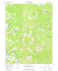 Download a high-resolution, GPS-compatible USGS topo map for Girta, WV (1977 edition)