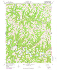 Download a high-resolution, GPS-compatible USGS topo map for Glen Easton, WV (1977 edition)
