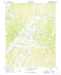 Download a high-resolution, GPS-compatible USGS topo map for Green Bank, WV (1968 edition)