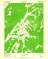 Download a high-resolution, GPS-compatible USGS topo map for Green Bank, WV (1961 edition)