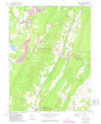 Download a high-resolution, GPS-compatible USGS topo map for Greenland Gap, WV (1982 edition)