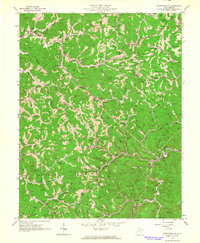 Download a high-resolution, GPS-compatible USGS topo map for Griffithsville, WV (1964 edition)